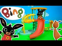 Bing's Playground Toy Unboxing BBC Cbeebies Bing TV Show   Kids Play O'clock - YouTube Preschool Logo, Bing Bunny, Playground Toys, Elmo Party, Top Toys, Oclock, Toddler Toys, Kids Playing, Scooby Doo
