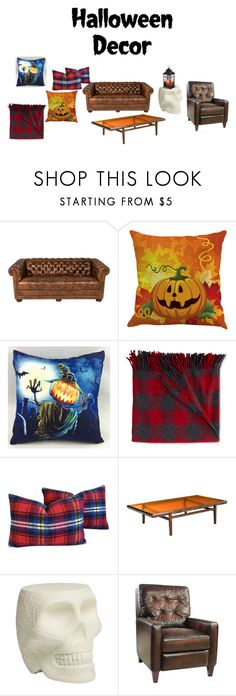 """""""scary fall night"""" by mikaylapomberg ❤ liked on Polyvore featuring interior, interiors, interior design, home, home decor, interior decorating, L.L.Bean, Qeeboo and Hooker Furniture"""
