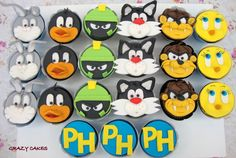 Image detail for -Grazy Cakes: Cupcakes Looney Tunes