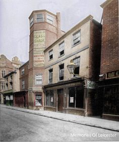 Huntingdon Tower was demolished for road widening shortly after. Derby, Leicester, Foxes, Walks, Vintage Photos, Photographs, England, Mansions, History