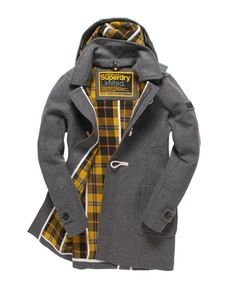 Classic duffle coat by Superdry