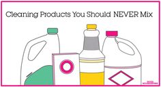 'Cleaning Products You Should NEVER Mix...!' (via Good Housekeeping)
