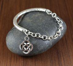 Celtic Knot  Outlander inspired  Antiqued Silver by KLFStudio