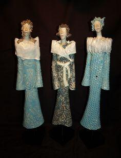 Damer på stett - ERT keramikk