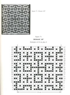 Mosaic Knitting Barbara G. Walker (Lenivii gakkard) Mosaic Knitting Barbara G. Walker (Lenivii gakkard) #96