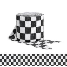 The Black & White Checkered Streamer is made of crepe paper with a black and white checkered design. Use this Black & White Checkered Streamer to complete your trophy-winning Indy 500 party decorations! Dirt Bike Party, Dirt Bike Birthday, Race Car Birthday, Cars Birthday Parties, 2nd Birthday, Birthday Ideas, Motocross Birthday Party, Monster Trucks, Monster Truck Birthday