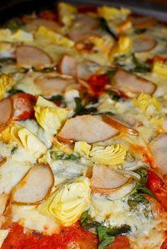 Gorgonzola Pear Pizza