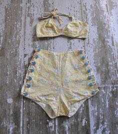 1940s swimsuit