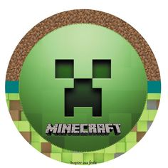 Minecraft Party: Free Printable Wrappers and Toppers.