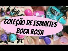 Coleção de Esmaltes e Removedor Boca Rosa (Bia Andrade) by Studio 35. ...