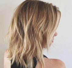 choppy layered haircut by Kristin Ess