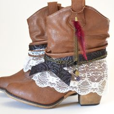 Bohemian Boot Makeover at Mom Spark!