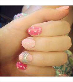 @Who What Wear - Miranda Kerr Loving my Japanese nail art! Kawaii FOLLOW: @Miranda Kerr (Instagram), @Miranda Kerr (Twitter)
