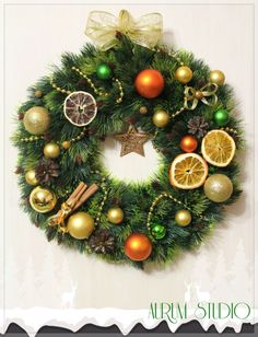 Magic Christmas wreath! Buy it!