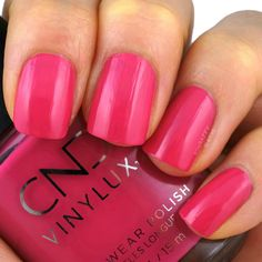 Kiss the Skipper Cnd Vinylux, Sloths, Beauty Review, Summer Collection, Swatch, Beauty Makeup, Hot Pink, Nautical, Nail Polish