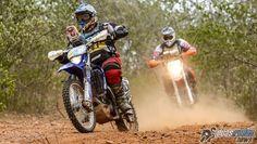 Motos andando forte em um dos maiores eventos off-road da América Latina