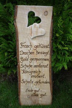 Tolle Gartendeko. Quelle: dawanda.com/product/947415-hochzeit Mehr