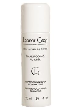 I keep hearing about this haircare line.  Pricey but maybe worth it?  Leonor Greyl PARIS 'Shampooing au Miel' Volumizing Shampoo | Nordstrom