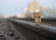 Danbo On The Wrong Side Of The Tracks by Phoenix Rising Photography, via Flickr