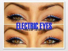 MAKEUP TUTORIAL || Electric Double Eyeliner