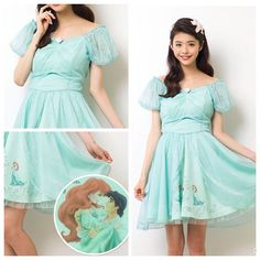 New Ariel dress from Secret Honey in Japan