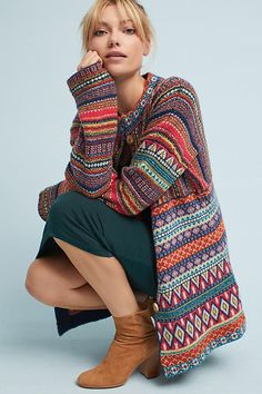 Moth Livia Intarsia Cardigan [Affiliate] teen fashion style vacation beach college summer + spring womens outfits casual romper first day school fall + winter sweater holiday season seasonal bathing suit bikini cute pretty hot Disclosure: Please note Teen Fashion, Boho Fashion, Autumn Fashion, Pulls, Urban Outfitters, Knitwear, Sweaters For Women, Casual Outfits, Couture