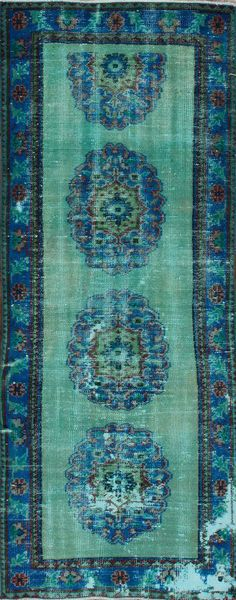 beautiful blues....Rugs USA Overdye Aydan Seafoam Rug