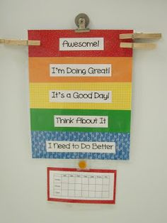 Simply Clean Living: Making a Behavior/Allowance Chart