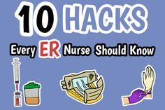 10 Nursing Hacks Every ER Nurse Should Know | Health And Willness