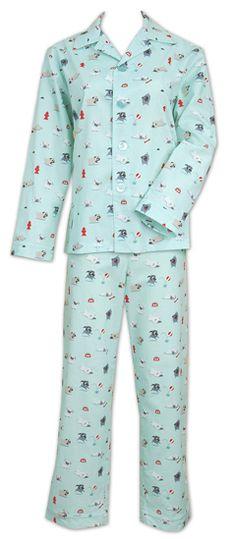 "NEW ARRIVAL! The Cat's Pajamas Women's ""Pug Life"" Pajama Set"