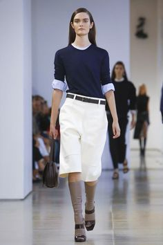 Jil Sander Ready To Wear Spring Summer 2015 Milan work top <3