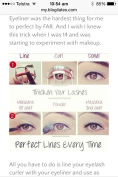 Easy Way To Apply Eyeliner! #Beauty #Trusper #Tip