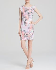 French Connection Dress - Graffiti Grid