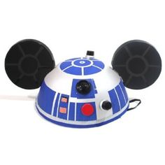 Disney Parks New DELUXE R2D2 Mickey Ears Hat - Disney Parks Exclusive & Limited Availability