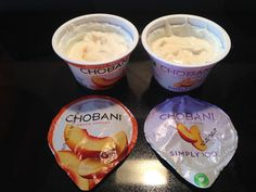 I did a side by side comparison of the Chobani Greek Yogurt and the Chobani Simply 100 and learned that I liked the Chobani Greek Yogurt more than the Chobani Simply Chobani Greek Yogurt