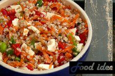 <p>Deze zomerse boekweit salade met wortel en feta is gezond en heel makkelijk! Boekweit bevat veelvoedingstoffen en is glutenvrij! Wat is boekweit eigenlijk? Boekweit zijn de vruchtjes van de boekweitplant. Deze vruchtjes zijnheel voedzaam. Boekweit bevat veel mangaan, magnesium, fosfor, ijzer, zink, koper, vitaminen B en vezels. Probeer eens ditrecept: …</p> Spinach Burgers, Fried Rice, Healthy Recipes, Healthy Food, Grains, Lunch, Feta, Dinner, Ethnic Recipes