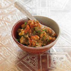 ESSEN & TRINKEN - Marokkanisches Auberginenpüree Rezept