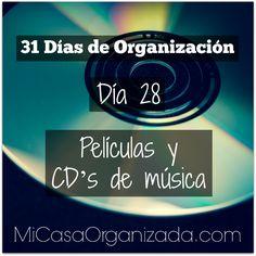 31 días de organización día 28 Keep Life Simple, Konmari Method, Home Organization, Clean House, Ideas Para, Challenges, Cleaning, Tips, Disco Duro
