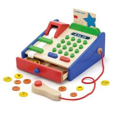 New Classic Toys kassa Toddler Christmas Gifts, Toddler Gifts, Toys For Boys, Kids Toys, Traditional Toys, Play Shop, Cash Register, Baby Kind, Wood Toys