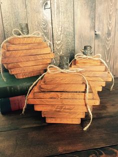 A personal favorite from my Etsy shop https://www.etsy.com/listing/251004228/thanksgiving-decorations-wooden-pumpkins
