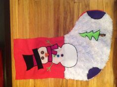 Cute Customized Christmas stockings on etsy!