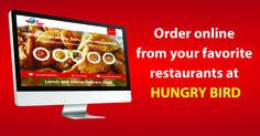 #MegaFoodPortal #ComingSoon #HungryBird Online Restaurant