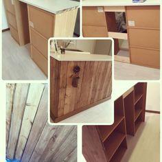 カラーボックスでキッチンカウンターをDIY | RoomClip mag | 暮らしとインテリアのwebマガジン