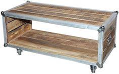 Wohnmöbelprogramm »Stage box« aus FSC®-zertifizierten Mangoholz. Die besondere Optik sticht hervor, ein echter Hingucker im jedem Wohnzimmer. Jedes Möbelstück ist hier ein echtes Unikat.  Gesamtaußenmaße (B/T/H): 90/35/45 cm.   Details:  FSC®-zertifiziertes Massivholz, 1 Mit Innenfach, Rechteckige Tischplatte,  Maße:  (B/T/H) ca. 90/45/35 cm, Fachinnenmaße (B/T/H): 86/43/25 cm, Alles ca.-Maße, ...