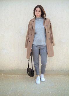 K Fashion Wardrobe: cozy and monochrome Monochrome, Zara, Normcore, Cozy, Nike, Sweaters, Pants, Style, Fashion