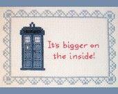 Dalek Rainbow - Doctor Who Inspired Cross-stitch Pattern. $8.00, via Etsy.