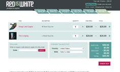 42 Best Shopping Cart Page Design Templates | Pinterest | Design web ...