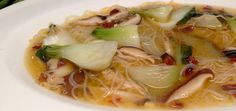 Soup In 15 Minutes: Bok Choy, Ginger & Shiitake (Vegan & Gluten Free)