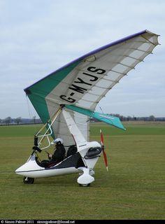 Pegasus Quasar 503 #aircraft #aviation #microlight #ultralight #flexwing #piston #uk