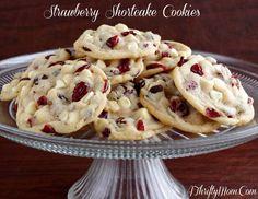 Strawberry Shortcake Cookies